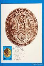 PLAQUE DE FACTEUR   Carte Postale Maximum FDC Yt C 1838