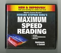 Maximum Speed Reading - by Howard Berg - 7CDs Includes  Workbook CD & DVD