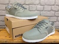 ETNIES MENS UK 6 EU 39 GREY DORY DECK STYLE SKATE TRAINERS RRP £60