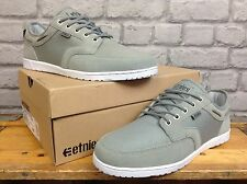 ETNIES MENS UK 10 EU 45 GREY DORY DECK STYLE SKATE TRAINERS RRP £60