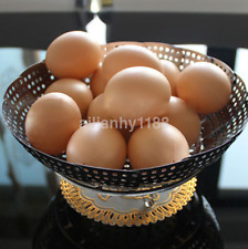 Hot 5pcs Hen Poultry Plastic Fake Dummy Egg Magnetic fishing toy CA