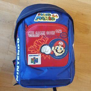 Banjo Kazooie Rareware Super Mario Nintendo 64 Kart Backpack Bag N64 Rare Studio
