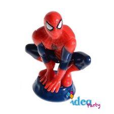 TOPPER Statuetta SPIDERMAN 8 cm decorazione torta festa compleanno bambino