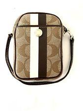 Coach Classic Pattern Camara Bag With Hand Strap Unisex