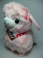Sweet Day Kids Alpacasso Pink Alpaca Red Heart Neck Scarf 40cm Plush Arpakasso