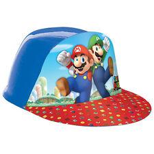 Super Mario Bros Gaming Birthday Party Plastic Treat Favor Hat