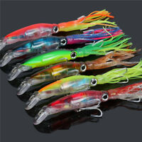 6pcs/lot Octopus Squid Jig Fishing Lures Trolling Big Game Saltwater Bait Lures