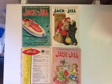 Lot of 4 vintage 1950's to 1970's Jack and Jill magazines