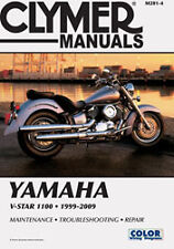 CLYMER REPAIR MANUAL Fits: Yamaha XVS1100 V Star 1100 Custom,XVS1100A V Star 110