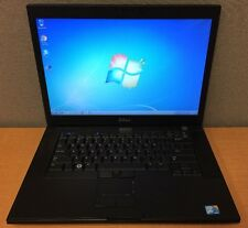 """Dell Latitude E6500 15.4"""" Laptop Intel C2D @ 2.54GHz 4GB RAM 250GB HD Win 7 Pro"""