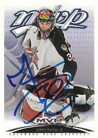 MARC DENIS BLUE JACKETS AUTOGRAPH AUTO 03-04 UPPER DECK MVP #125 *22013