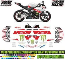 kit adesivi stickers compatibili yzf 125 r replica yart