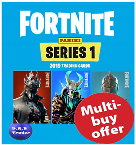 PANINI FORTNITE TRADING CARDS EPIC & LEGENDARY CARDS 201-300 - YOU CHOOSE