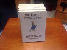 Wedgwood Beatrix Potter The Tale of Peter Rabbit Book Bank Porcelain