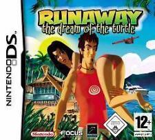 Nintendo DS 3ds Runaway the dream of the Turtle alemán como nuevo