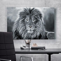3D A Lion's Head 6 Wall Stickers Vinyl Murals Wall Print Decal Deco Art AJ STORE