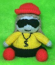 Knitting Pattern-MIELE G ispirato Choc Arancione Copertura/15cms X Factor RAPPER giocattolo