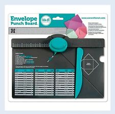 We R Memory Keepers Punch Board ENVELOPE PUNCH BOARD HandMade Envelopes ~71277-0