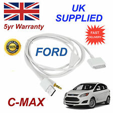 Ford Cmax 1529487 3gs 4 4s Iphone Ipod Usb & Aux Cable Blanco