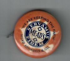 Vintage Mead Johnson Pablum Advertising Celluloid Tap Measure