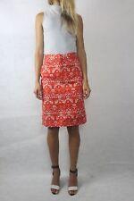 SPORTSCRAFT Red Print Aztec Cotton Skirt Size 6