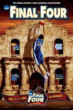 NCAA Men's Basketball FINAL FOUR 2008 SAN ANTONIO Official Event Poster