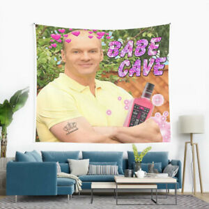 Bob Ducan - Babe Cave Meme Wall Hanging Tapestry, Bod Ducan Tapestry