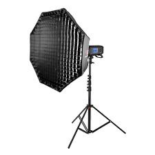 Pro Kit de boda de viaje fácil apertura de Flash Softbox Iluminación Soporte Retráctil AD400