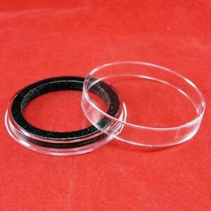 39 MM  AIR TITE COIN CAPSULES BLACK RING FOR AMERICAN Dollar 10 ea. 06267