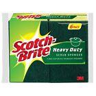 Scotch-Brite Heavy-Duty Scrub Sponge 6 ea