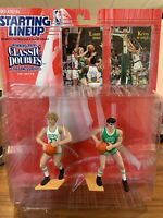Starting Lineup Classic Doubles Larry Bird & Kevin McHale 1997 Near Mint Cond