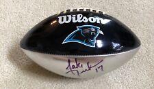Jake Delhomme Carolina Panthers Signed Logo Football NFL