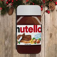 NUTELLA  FLIP Wallet PHONE CASE COVER fits ALL IPHONE & SAMSUNG MODELS