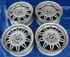 "BMW E36 E46 328i 325i M3 OEM Forged DS1 Double Spoke Motorsport 17"" Wheels Rims"