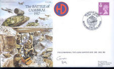 AC82 RAF Cover Battle of Cambrai signed Field Marshal Carver DSO MC