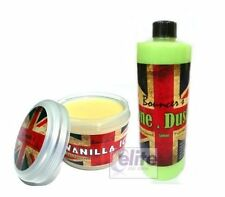 Bouncer's Black Series Vanilla Ice Wax 200ml & Done & Dusted Quick Detailer Kit