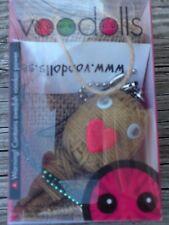 Swedish Voodolls Scooby pet creature animal protector talisman keychain in box