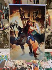 DC Comics Dark Nights: Metal #1 (2017) Bill Sienkiewicz Forbidden Planet Variant