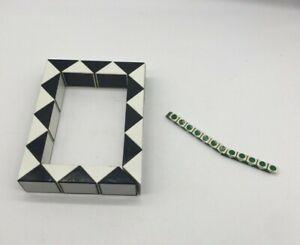 Vintage Rubix  snakes  puzzles large and travel  green white black white