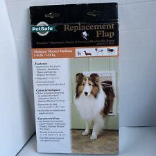 """PetSafe Dog and Cat Door Replacement Flap, Medium, 8 1/8"""" x 12 7/8"""""""