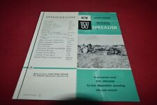John Deere L /& M Manure Spreader For 1951 Dealer/'s Brochure DCPA5
