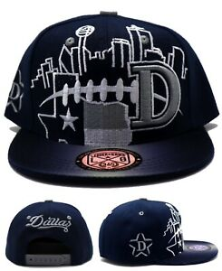 Dallas New Toddler City Skyline Cowboys Colors Blue Gray Era Snapback Hat Cap