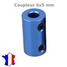 coupleur rigide 5x5 mm en aluminum  5*5 imprimante3d, cnc ,moteur