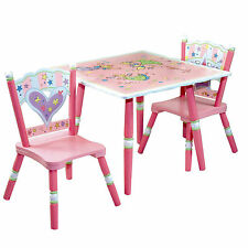 Pink Chairs and Tables for Children