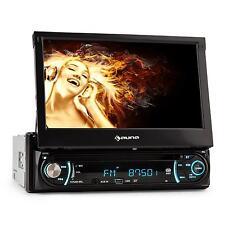 "Autoradio Din Monitor a Scomparsa Macchina Auto Display 18cm  7"" Moniceiver"
