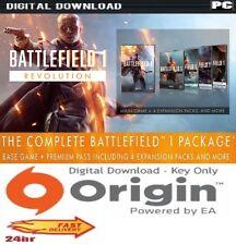 Battlefield 1 Revolution Edition + Premium Pass Complete PC Origin UK EU Global