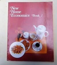 HOME ECONOMICS, NEW HOME ECONOMICS BOOK 1. RAHIMAH AHMAD-QUADRA LONGMAN 1983