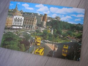 Vintage Early 1960's The Square, Bournemouth Postcard