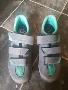 Shimano SPD Women's Cycling Shoes Size 41 MTB with cleats