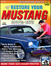 MUSTANG RESTORATION MANUAL FORD BOOK HOW TO RESTORE GUIDE GT BOHANAN SHOP COUGAR